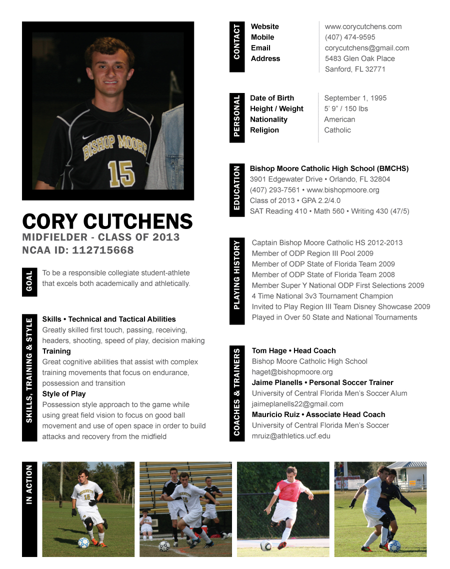 Resume Template, High School Soccer Coach Resume, Medical Sales Resume ...